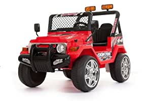 RED 12V BATTERY OPERATED 4x4 style Jeep/Truck
