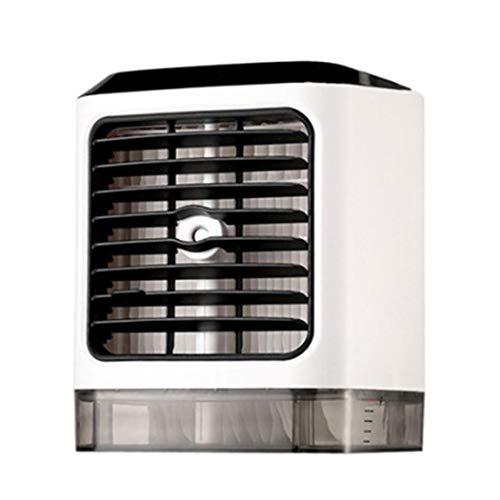 fnemo Kühle Luft,persönlicher Luftkühler USB-Schnittstelle Tastensteuerung Tischkühler Lüfter für das Schlafzimmer im Büro zu Hause -