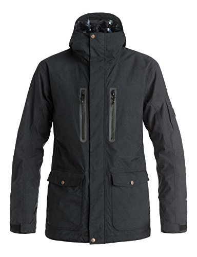 Quiksilver Dark And Stormy Giacca, Nero, L