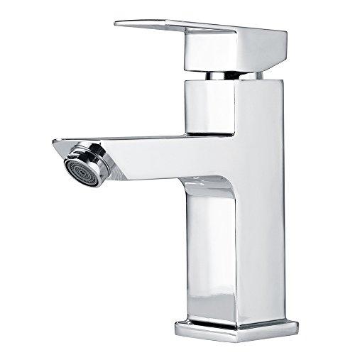 Homelody - Einhebel-Waschtischarmatur, ohne Ablaufgarnitur, SilkMove Kartuschentechnologie, Chrom