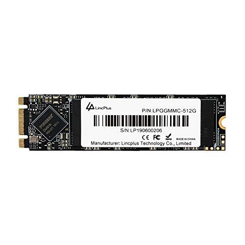 LincPlus 512GB M.2 2280 SATA SSD 3D NAND Internes SSD für Laptops,Notebooks und Tablets