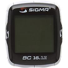 Sigma 06120 BC 16.12 - Ciclocomputador, cableado, color negro