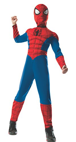 ate Spider-Man 2-in-1 Reversible Spider-Man / Venom Muscle Chest Costume, Child Small - Small One Color by Rubie's (Venom Kostüm Halloween)