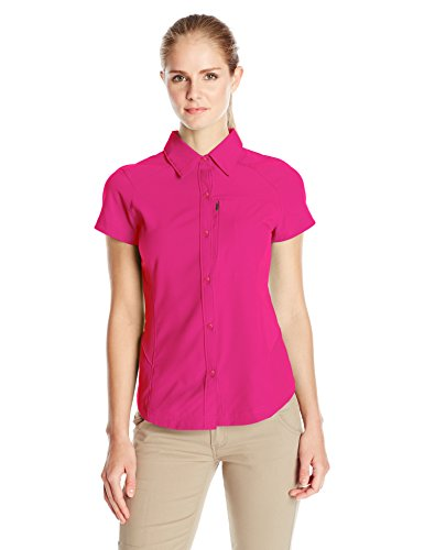 columbia-womens-silver-ridge-short-sleeve-shirt-haute-pink-large