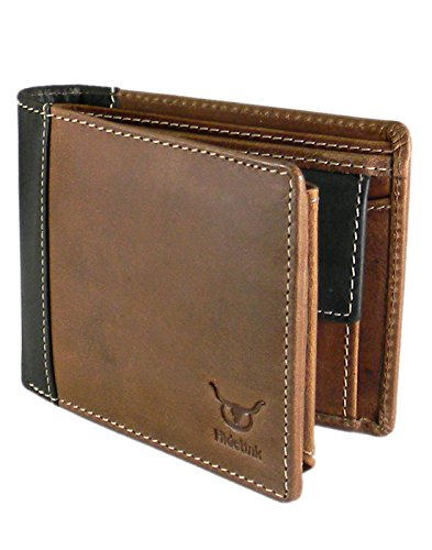 Ssmitn Men's Brown Leather Wallet