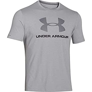 Under Armour Herren Cc SPortstyle Logo Fitness T-Shirt, True Grey Heather, L