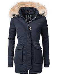a27da5d2d4e8 Navahoo Damen Winter-Jacke Winter-Mantel Schneeengel (vegan hergestellt) 11  Farben XS