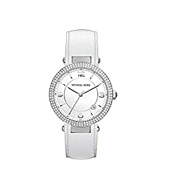 Michael Kors Analog White Dial Womens Watch-MK2541