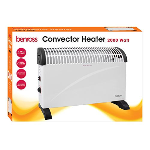 41nnUDf9dCL. SS500  - Benross 40770 2-Kilowatt Convector Heater / 3 Heat Settings / Portable / Overheating Protection