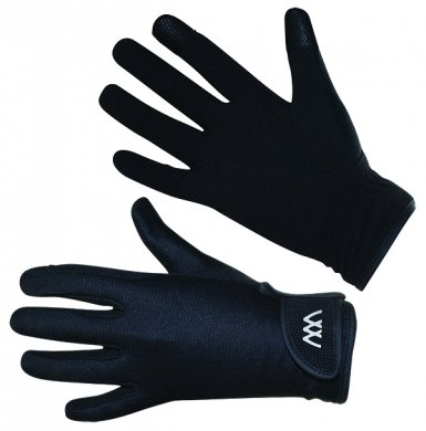 Woof Wear Connect Smartphone Everyday Riding Glove 8 inches Black
