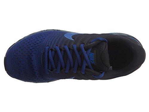 Nike Air Max 2017 Laufschuhe Runningshoes Schuhe für Herren Dunkelblau (Deep Royal Blue/Black/Hyper Cobalt)
