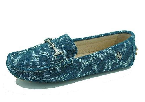 Minitoo yb960 - 15 da donna comoda Slip-on scarpe in pelle scamosciata Mocassino