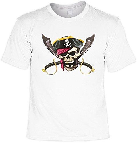 hädel Motiv: Bonehead (T-Shirt) (Piraten-schädel)