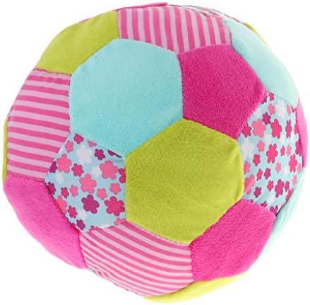 Baoblaze Boule Colorée Cloche  s Hochet Bébé Lit Jouet Main Saisir Tissu Doux Sens DéveloppeHommes t | Shopping Online