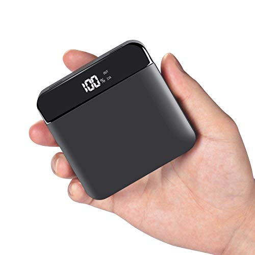 Beefix Powerbank 20000mAh Externer Akku Mini powerbank hohe Kapazität Externer Akku Ultra Kompakter powerbank für iPhone,Huawei,Xiaomi,iPad, Samsung Galaxy und viele mehr