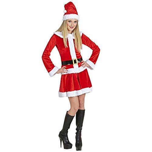 Erwachsenenkostüm Santa Claus Lady