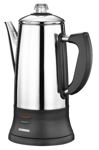 Butler 645293 Elektrischer Kaffee-Perkolator Kaffeekocher 1,8 Liter 12 Tassen