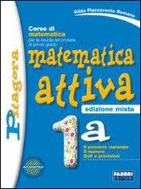 Matematica attiva. Vol. 1A-1B. Con prove INVALSI. Per la Scuola media. Con espansione online