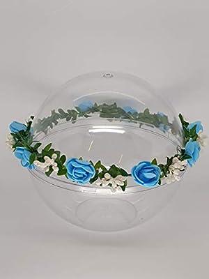 Couronne de fleurs pour Communion our Demoiselle d'Honneur?fait à la main en Italie?
