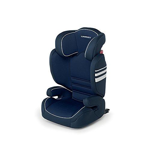 Foppapedretti Miestendo Fix - Silla de coche, grupo 2/3, color azul marino