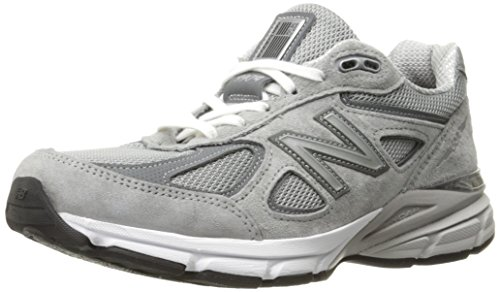 New Balance Women's W990V4 Running Shoe Grey/Castlerock