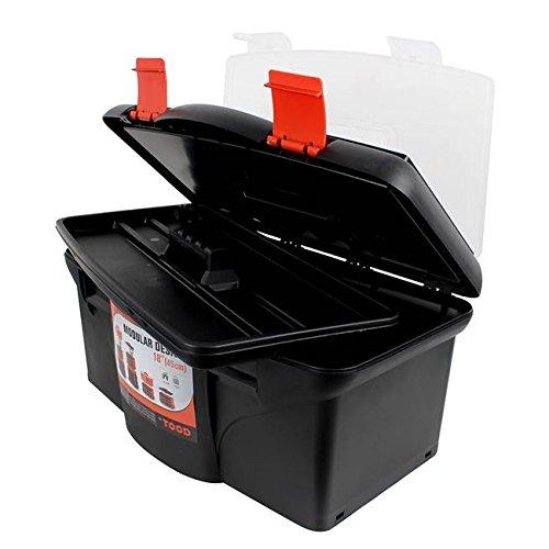 Stabiler Werkzeugkoffer, Werkzeugbox, 22 x 45 x 26cm