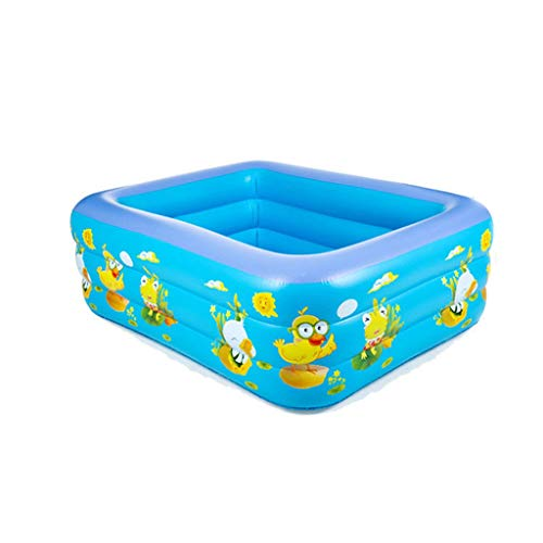 YANFEI YANFEI Aufblasbarer Pool, Säuglingskinder Haushalt Verdickung Erwachsene Plus Size Baby Shower, Kind Marine Ball Pool, 6 Medium Größe (größe : 150 * 100 * 45 three layers)