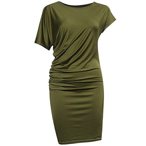 Culater® Femmes Bandage élégant Parti Vestidos de Moulantes de Robe de Soirée Longue Vert