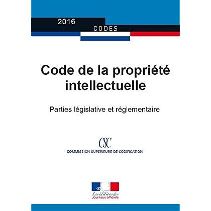 Code de la propriété intellectuelle (Codes)