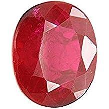 Om Gyatri Burma Ruby/Manik Lab Certified Natural Gemstone 7.25 Ratti