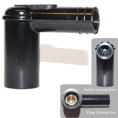 1X Zündkerze Kappen Stecker Gehäuse passend Schraube in HT Kabel mit 5K Widerstand Test