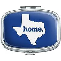 Texas TX Home State solid navy blau Offizielles Lizenzprodukt Rechteck Pille Fall Schmuckkästchen Geschenk-Box preisvergleich bei billige-tabletten.eu