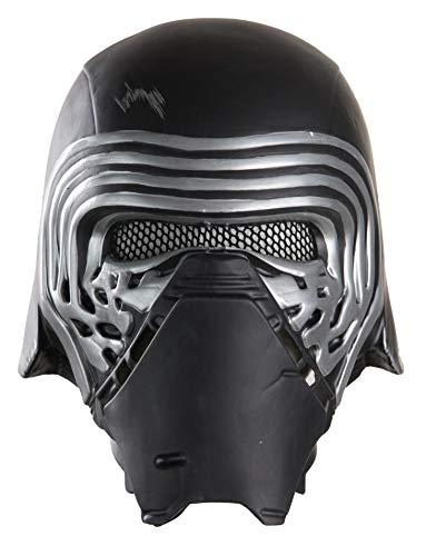 Generique - Star Wars Maske Kylo Ren für Kinder Lizenzartikel schwarz (Kylo Ren Kostüm Details)