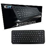 Best Perixx Mini Keyboards - CiT KB-738 Premium Mini USB Keyboard - Black Review