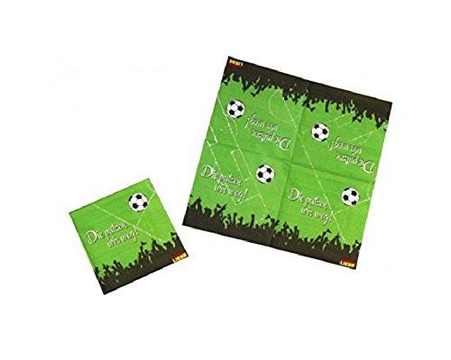 Servietten * Fußball Liebe * 20 Stück / ca. 33 x 33 cm