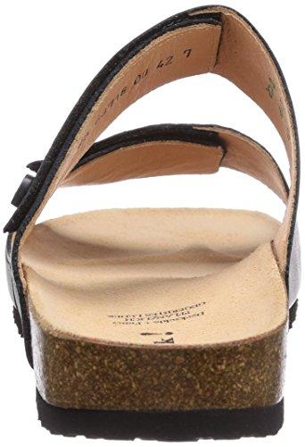 Think! Josef, Chaussures de Claquettes homme Noir - Noir (00)