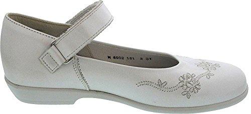 Helgas Modewelt, Scarpe col tacco bambine (perlato weiß)