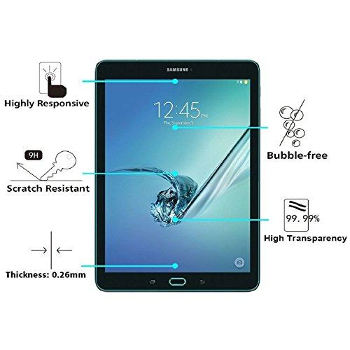 Samsung Galaxy Tab S3 9.7 T820/T825 SmartLikeTempered Glass, 2.5D 9H HD+ Anti Finger Print , SmartLike Premium Tempered Glass For Samsung Galaxy Tab S3 9.7 T820/T825