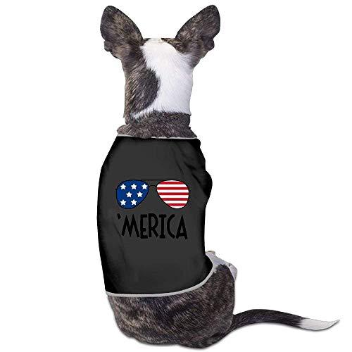 GSEGSEG Hundekostüm Microa, Bunte Sonnenbrille, Logo, für Hunde und Katzen, aus Polyester
