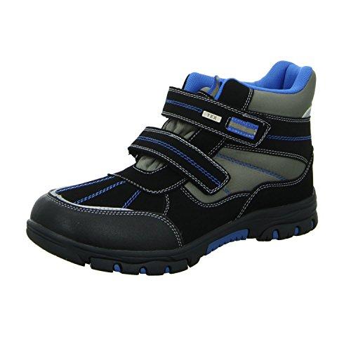 Sneakers 467184/000 Jungen Allwetterstiefel Warmfutter Funktionsmembran Schwarz (Schwarz)
