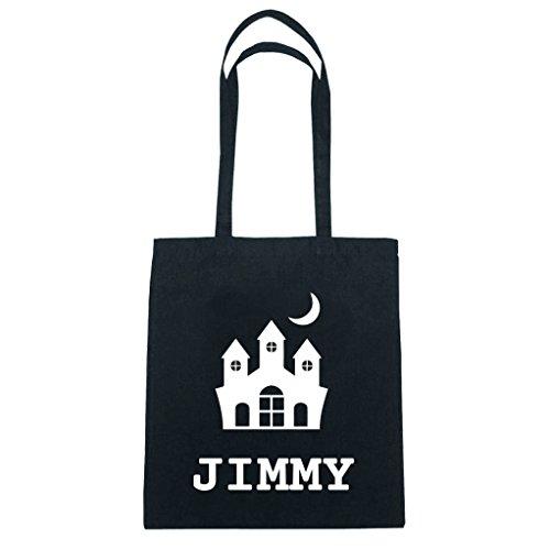 JOllify Baumwolltasche Halloween für JIMMY - Burg Schloss