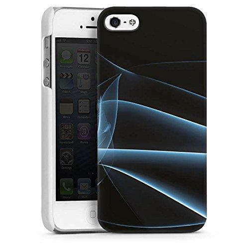 Apple iPhone 4 Housse Étui Silicone Coque Protection Fumée Fumée Brouillard CasDur blanc
