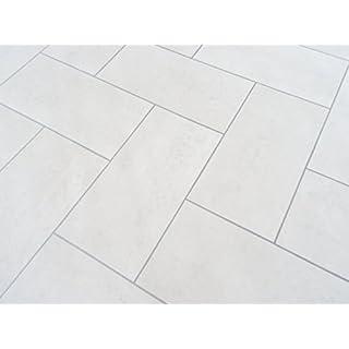 PVC in Parkettdielen-Optik, weiß - von Alpha-Tex 9.95€/m² (Länge: 150 cm, Breite: 400cm)