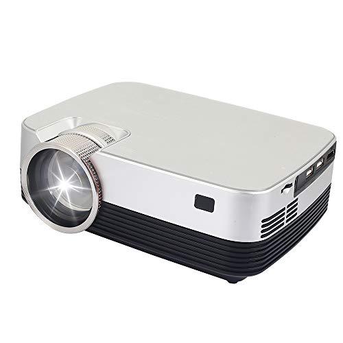 Hanbaili 4k - 3D - Projektor 4k 3D - Hd 1080p Hd - Smart - Projektor with Clever Q6 Vga/USB/Hdmi Heimkino HD