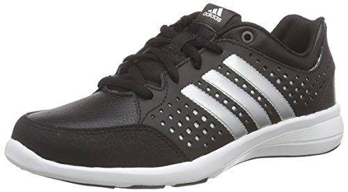 adidas Damen Arianna Iii Hallenschuhe, Schwarz (Core Black/Silver Metallic/White), 40 EU