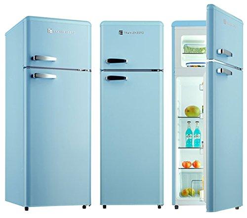 Kühl-Gefrierkombination KGK 250 A+ Kühlschrank Hellblau