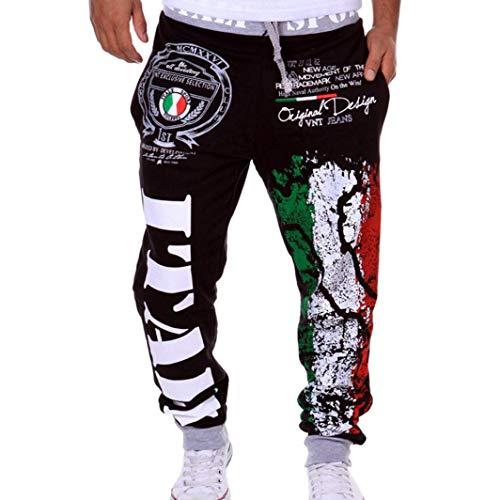 Herren Hose Xinan Herren Mode Stoff Hosen Männer Hosen Freizeithosen Jogginghose Sporthose M-2XL