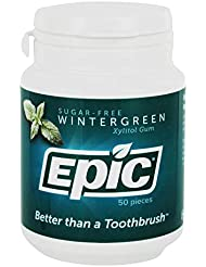 EPIC DENTAL - Wintergreen Xylitol Gum - 50 Pieces