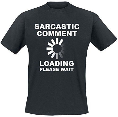 Sarcastic Comment T-Shirt nero XXL