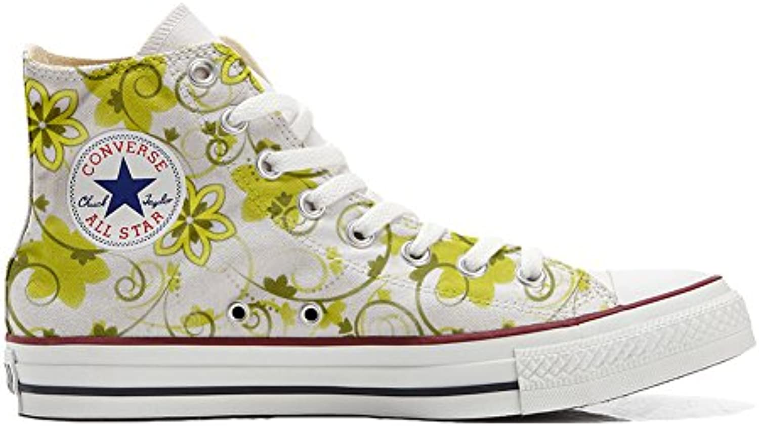 mys Converse All Star Customized Unisex   Personalisierte Schuhe (Handwerk Produkt) Summer Paisley